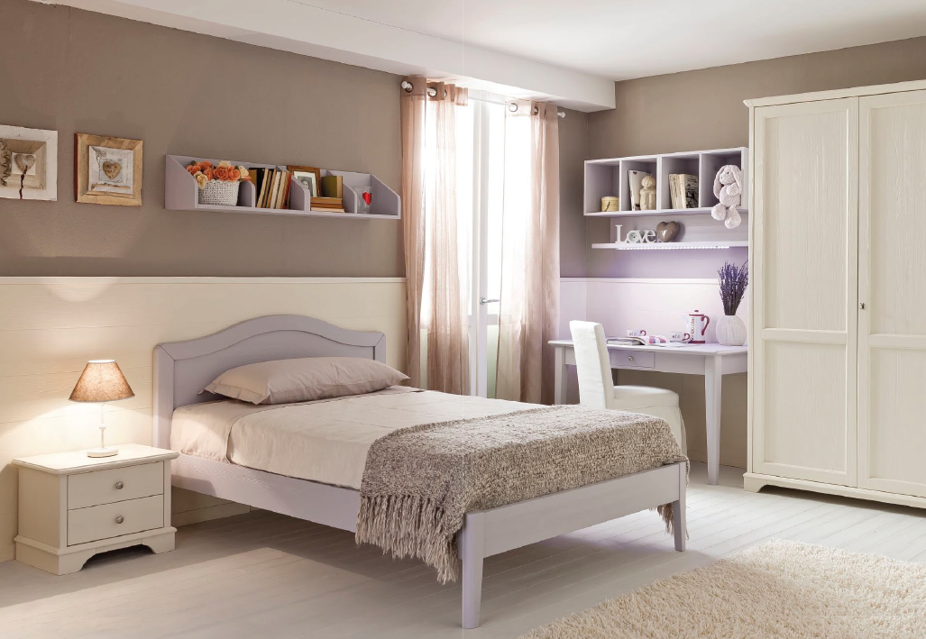 Bianchi mobili abete camere matrimoniali - Camere da letto per teenager ...